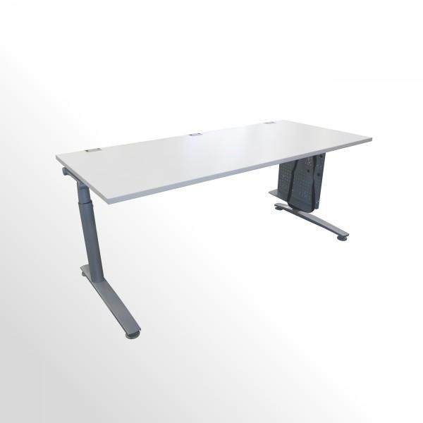 Günstiger, gebrauchter König+Neurath Schreibtisch - grau - 1800 x 800 mm