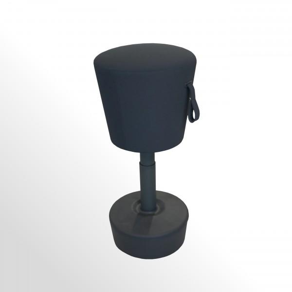 Günstige Stehhilfe - Hocker für den Arbeitsplatz - flexibel und höhenverstellbar!