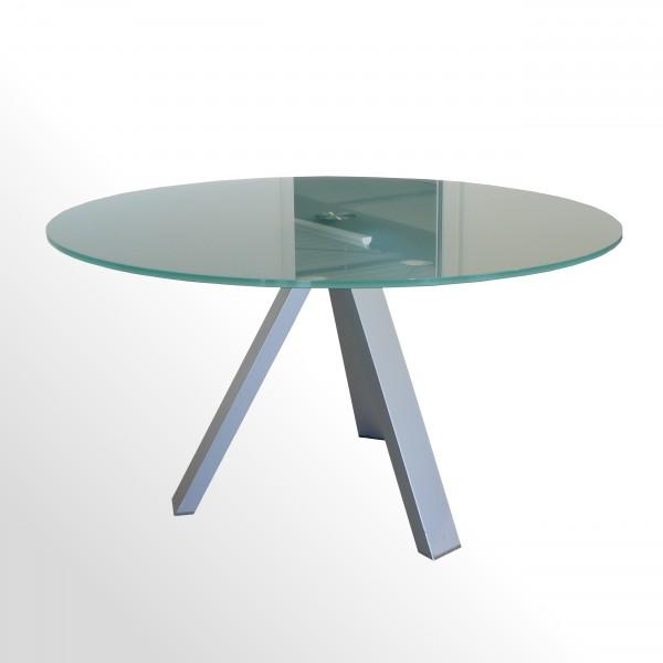 Gebrauchter Walter Knoll Icon Besprechungs- und Konferenztisch - mit Milchglasplatte