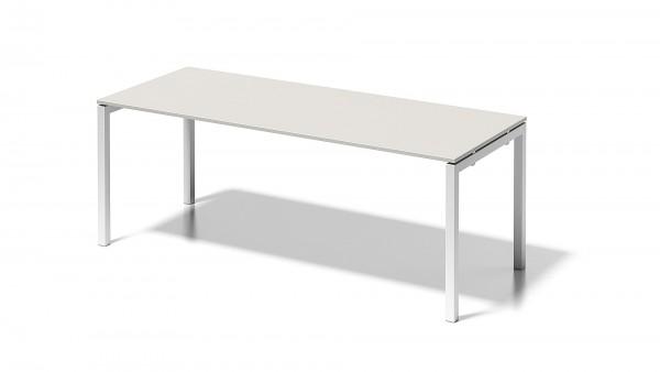Cito Schreibtisch, 740 mm höhenfixes U-Gestell, B 2000 x T 800 mm