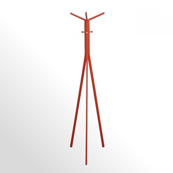 Moderner Design-Garderobenständer - Orange