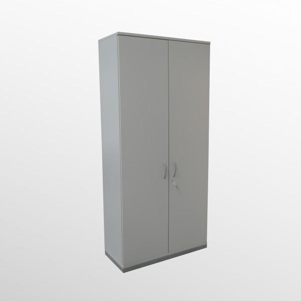 Gebrauchter fm Büromöbel Aktenschrank - Flügeltürenschrank - grau - 6 Ordnerhöhen