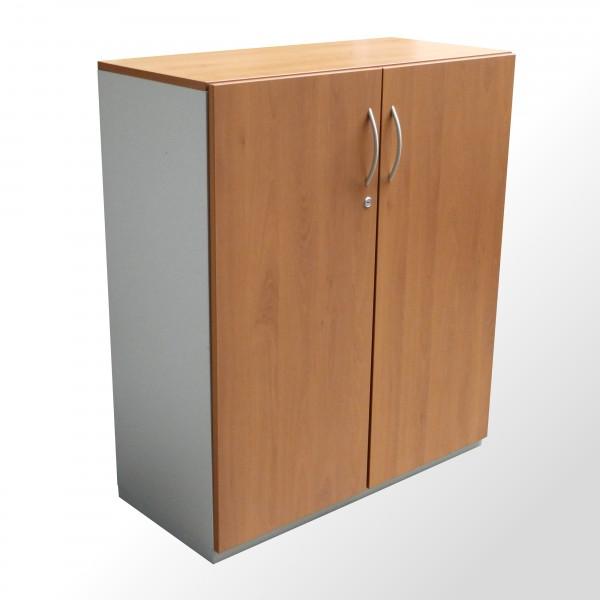 Gebrauchter Aktenschrank - Flügeltürenschrank - Buche Dekor - 3 Ordnerhöhen