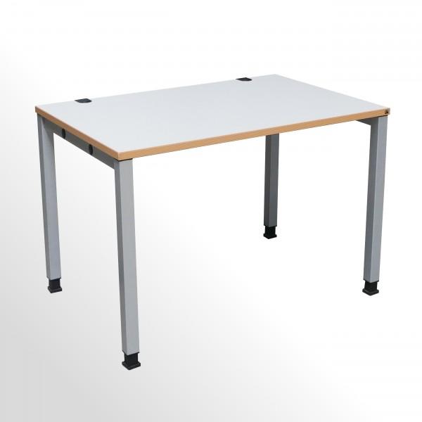 Gebrauchter König & Neurath Basic 4 Schreibtisch - Arbeitstisch - B 1200 x T 800 mm