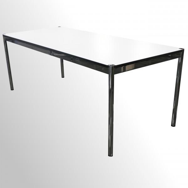 Gebrauchter USM Haller Arbeitstisch - Weiß - 1500x750 mm