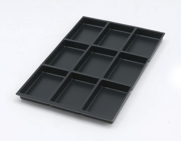 Bisley MultiDrawer™ Schubladeneinsatz A4 9 Fächer für alle DIN A4 Schubladen