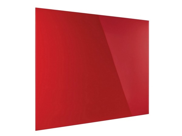 Günstige Design-Glastafel - Glasboard - Intensiv-Rot