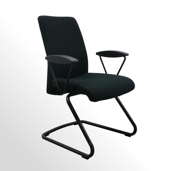 Gebrauchter Girsberger Besucher- und Konferenzstuhl mit Armlehnen
