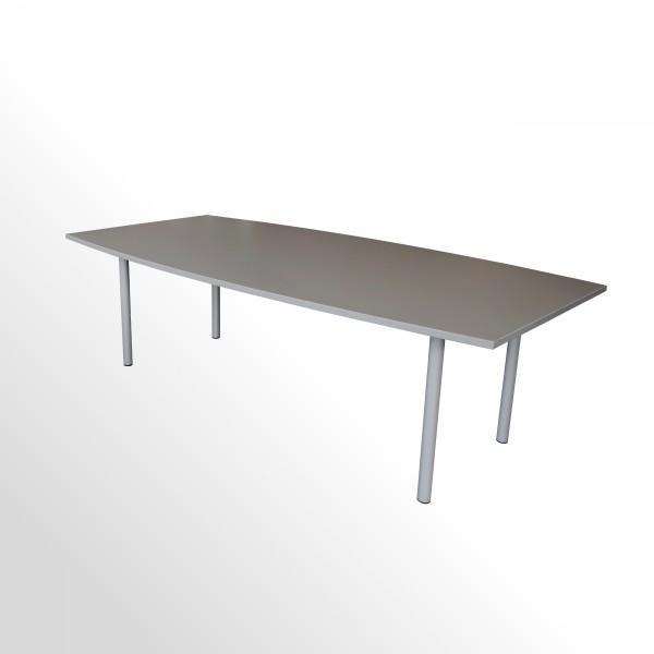 Besprechungs- und Konferenztisch - 2400x1200 mm - Cubanitgrau