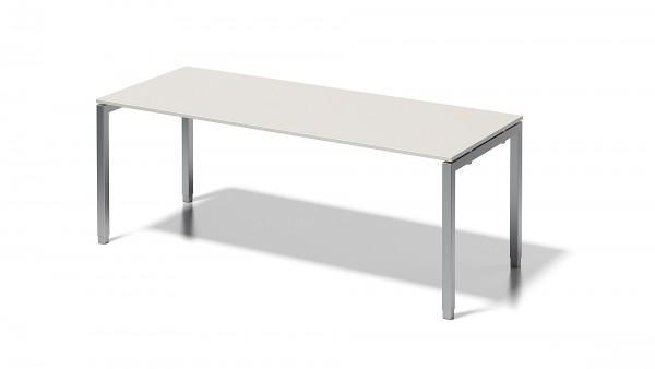Bisley Cito Schreibtisch, 650-850 mm höheneinstellbares U-Gestell, B 2000 x T 800 mm