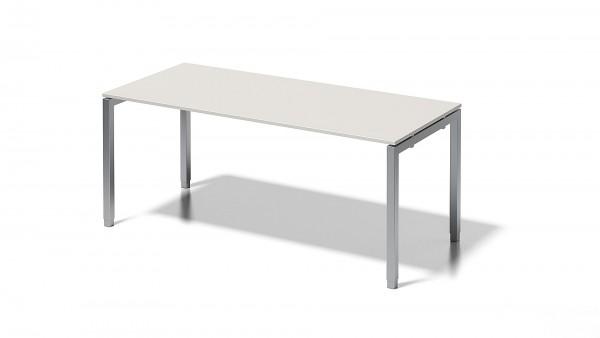 Cito Schreibtisch, 650-850 mm höheneinstellbares U-Gestell, B 1800 x T 800 mm