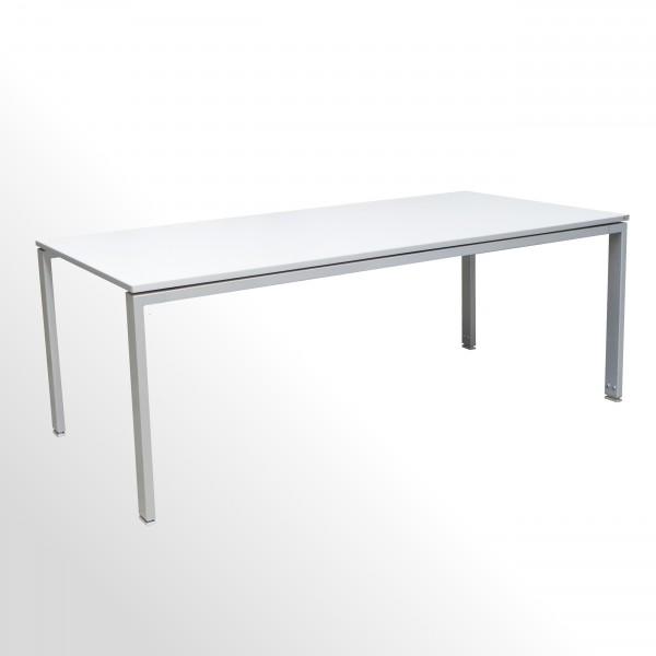 Gebrauchter Wini Besprechungs- und Konferenztisch - weiß - 4-Fuß