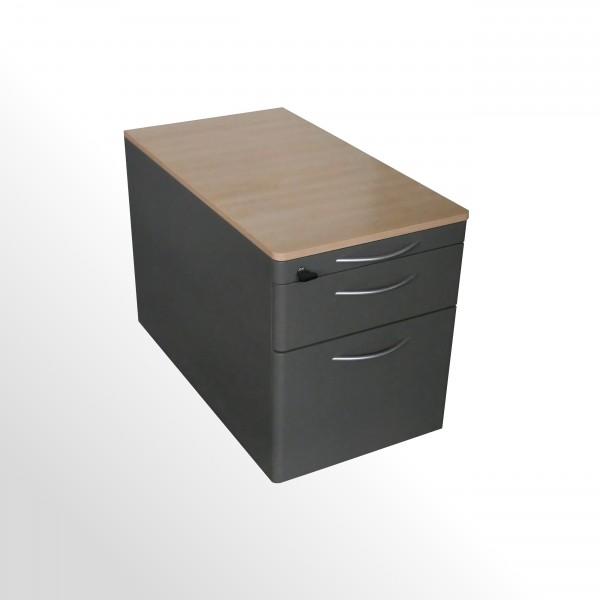 Günstiger, gebrauchter Steelcase Rollcontainer mit Hängeregistraturlade