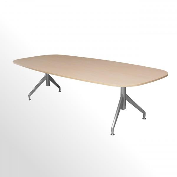 Günstiger Besprechungs- und Konferenztisch - Ahorn Dekor - 2750x1200 mm