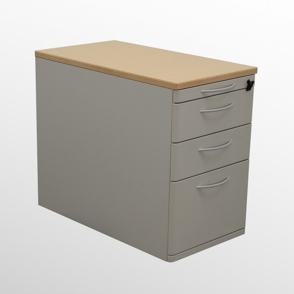 Gebrauchter Werndl Standcontainer mit Hängeregistraturlade