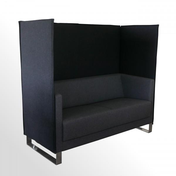 Günstiges Highback-Lounge-Sofa mit Akustikeigenschaften