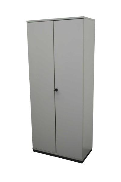 Gebrauchter Werndl Flügeltürenschrank - grau - B 800 mm