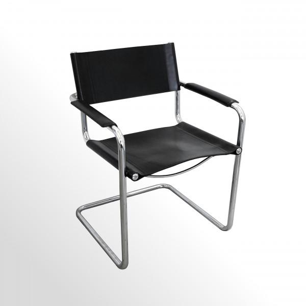 Gebrauchter Besucherstuhl - Freischwinger | Im Bauhaus-Design