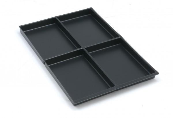 Bisley MultiDrawer™ Schubladeneinsatz A4 4 Fächer für alle DIN A4 Schubladen