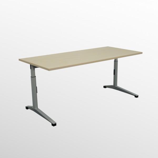 Gebrauchter Steelcase/Werndl Schreibtisch - Ahorn Dekor - 1800x800 mm
