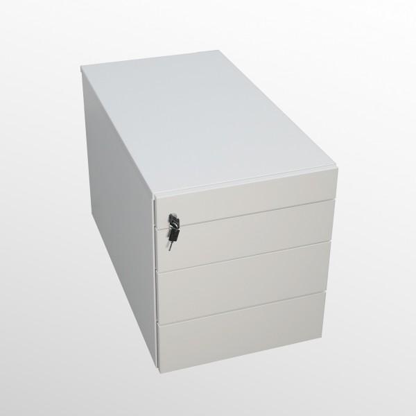 Rollcontainer - Untertischcontainer - weiß