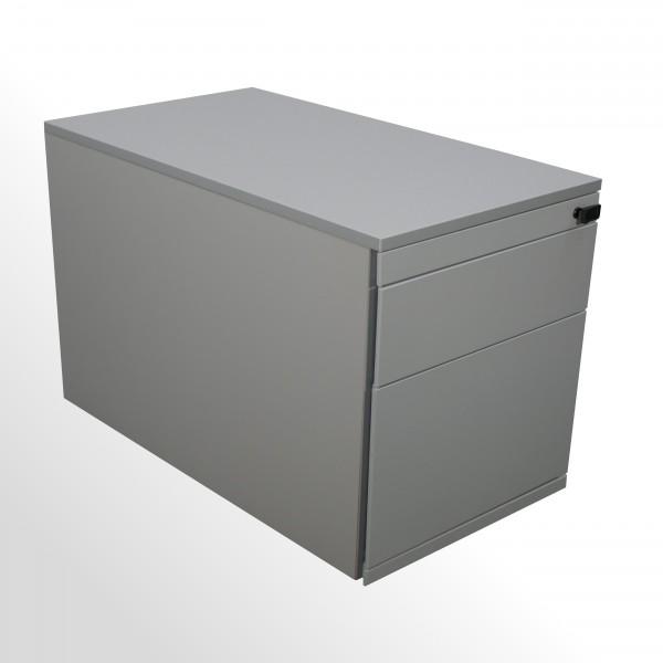 Gebrauchter Steelcase Rollcontainer mit Hängeregistraturlade & Stahlfront