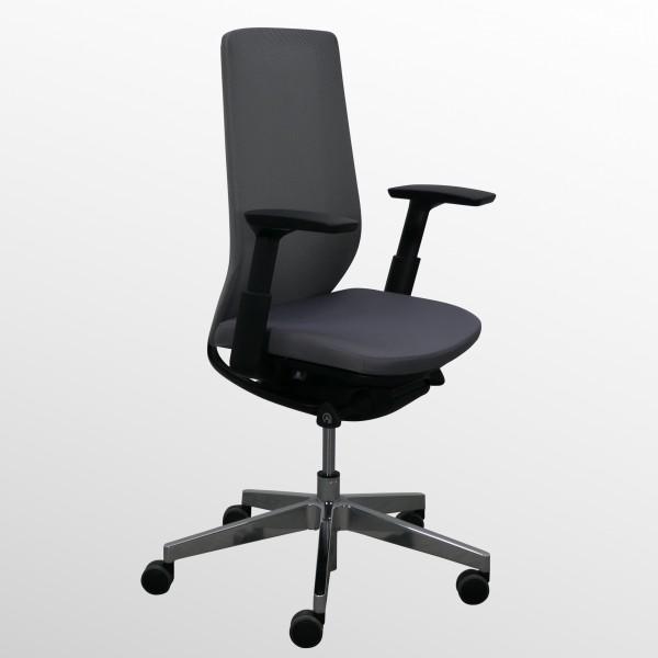 Ergonomischer & flexibler Bürodrehstuhl mit Armlehnen und Netzrücken