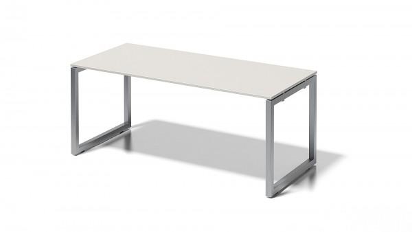 Cito Schreibtisch, 740 mm höhenfixes O-Gestell, B 1800 x T 800 mm