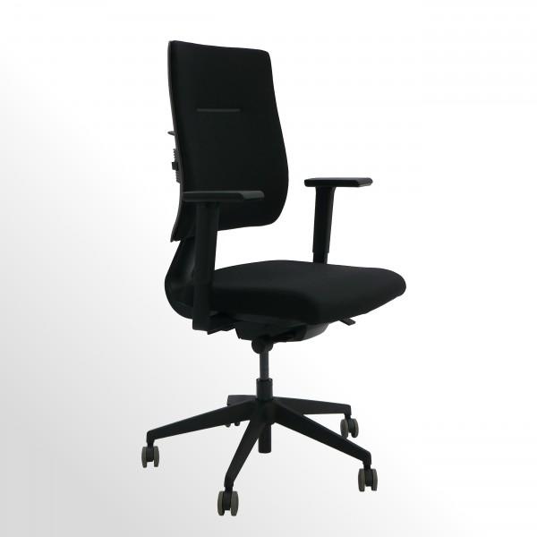 Ergonomischer Bürodrehstuhl | Perfekt für dynamisches 3D-Sitzen | BLACK-EDITION