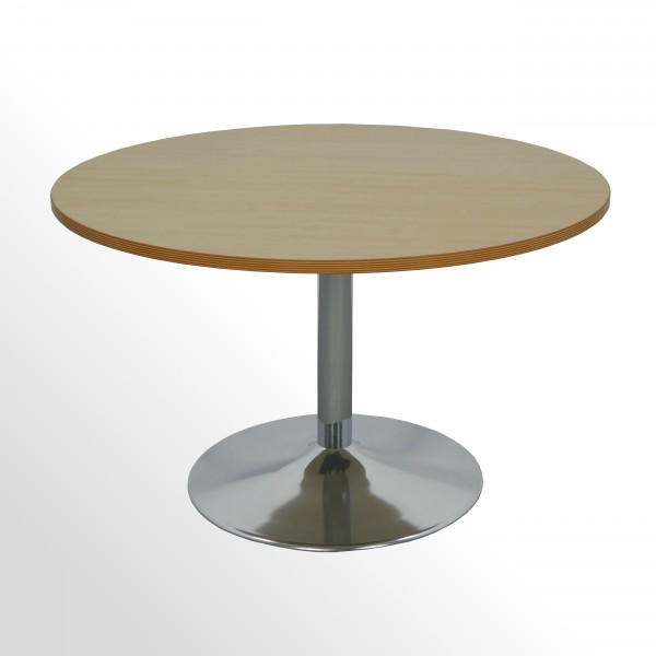 Günstiger, gebrauchter Besprechungs- und Konferenztisch - Ø 1200 mm
