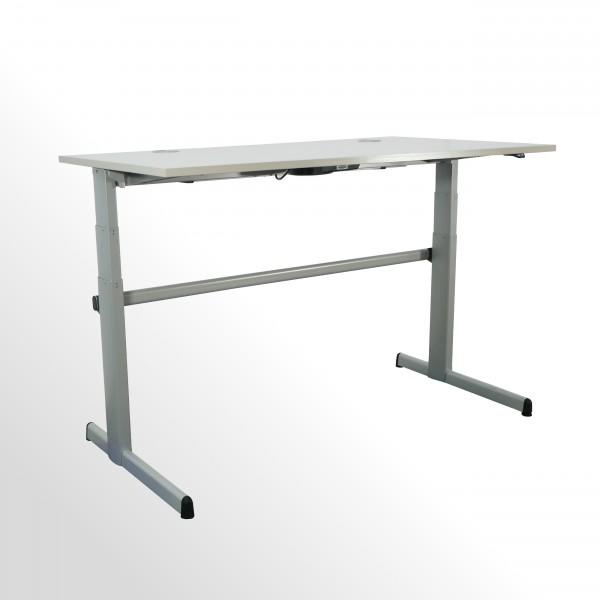 Gebrauchter, elektrisch höhenverstellbarer Steelcase Schreibtisch - Steh-Sitz-Arbeitstisch