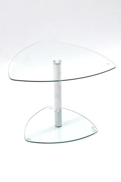 Günstiger Besprechungs- und Konferenztisch - Beistelltisch - Glastisch