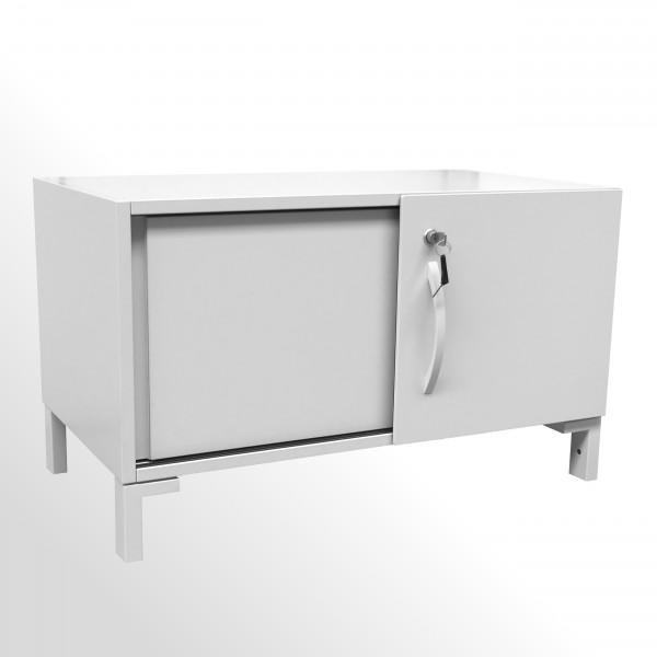 Gebrauchter Steelcase Share It Schiebetürenschrank - Beistellschrank