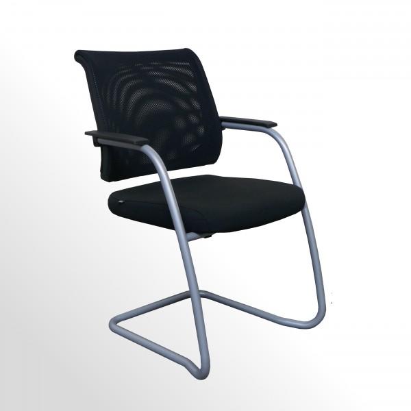 Gebrauchter Sedus Netwin Besucher- und Konfernzstuhl - Sitzpolster schwarz