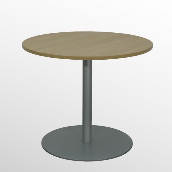 Günstiger, gebrauchter Bene Besprechungs- und Konferenztisch - Ø 800 mm - Eiche Dekor
