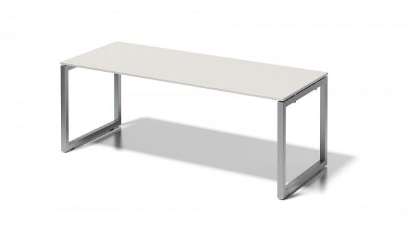 Cito Schreibtisch, 740 mm höhenfixes O-Gestell, B 2000 x T 800 mm