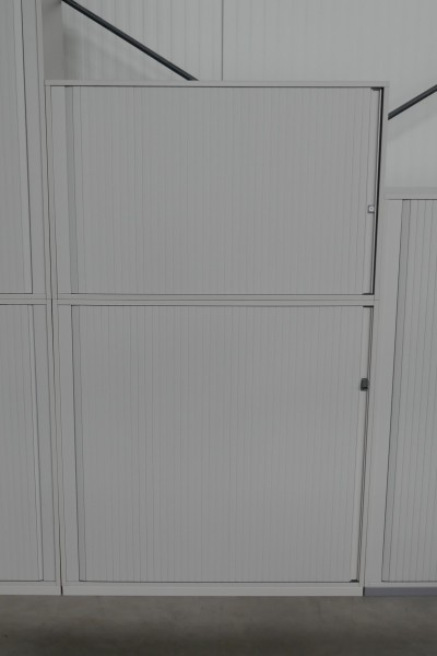 Gebrauchter Steelcase Rollladenschrank - 2-teilig