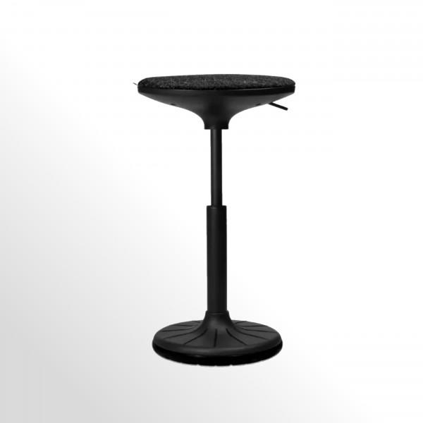Wagner W³ 3D-Steh-Sitzhocker - schwarz