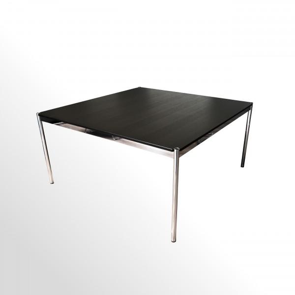 Gebrauchter USM Haller Besprechungs- und Konferenztisch - Eiche schwarz - 1500x1500 mm
