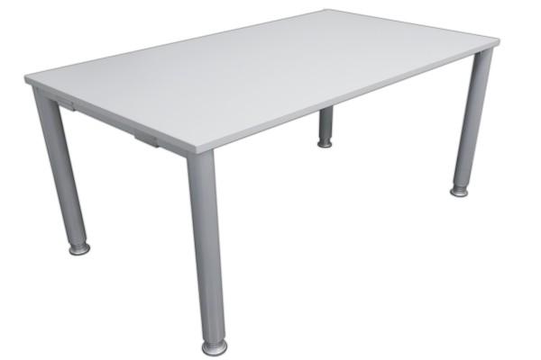 Gebrauchter Palmberg SYSTO:TEC Schreibtisch - Grau/Grau