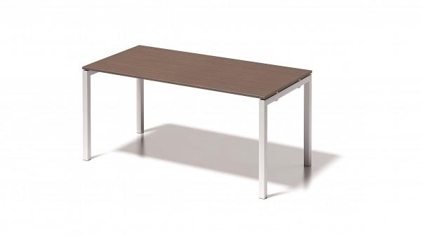 Cito Schreibtisch, 740 mm höhenfixes U-Gestell, B 1600 x T 800 mm