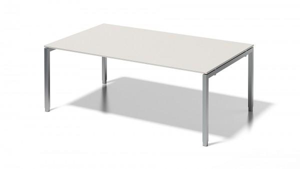 Cito Chefarbeitsplatz/Konferenztisch, 650-850 mm höheneinstellbares U-Gestell, 2000 x 1200