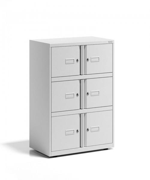Office Lodge Essentials, 6 Türen, Schließfachschrank - Ablageschrank