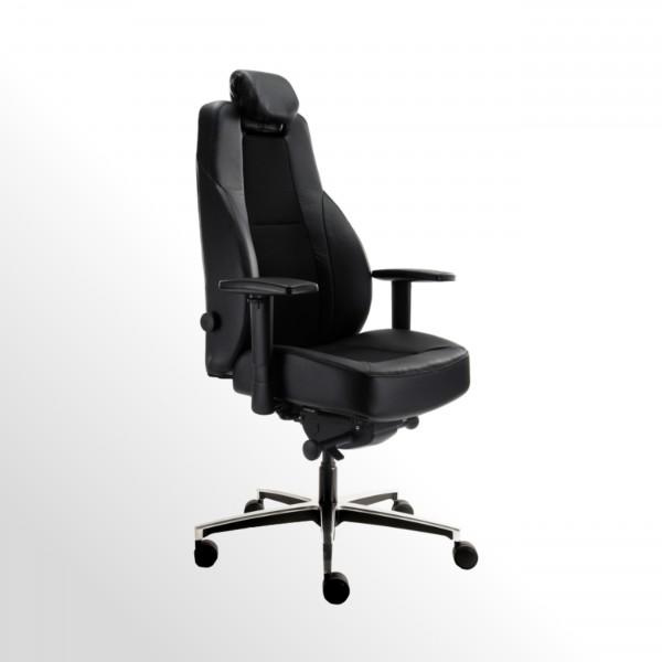 Leitstellenstuhl / 24h-Drehstuhl - für 24/7-Gebrauch - bis 200 kg belastbar!
