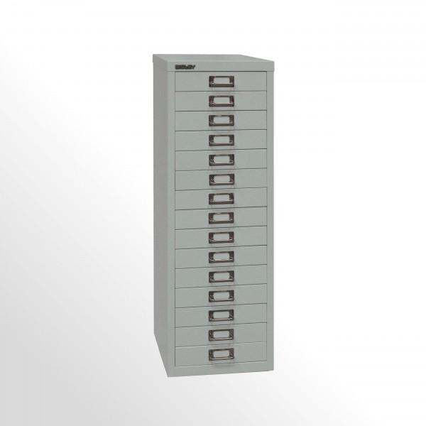 Schubladenschrank - Bisley MultiDrawer™, 39er Serie, DIN A4, 15 Schubladen