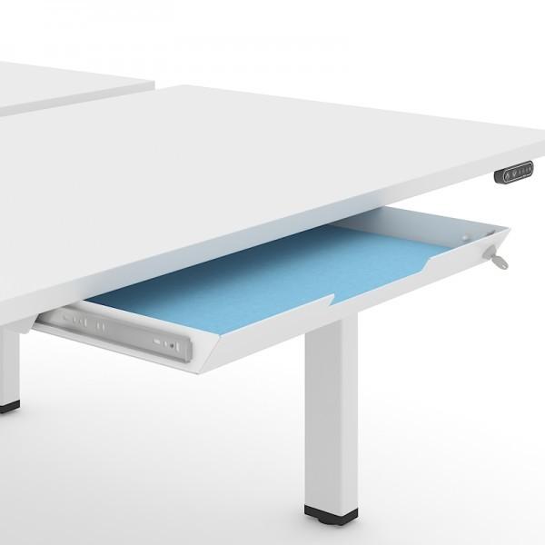 Utensilienschublade zur Montage unter der Schreibtischplatte