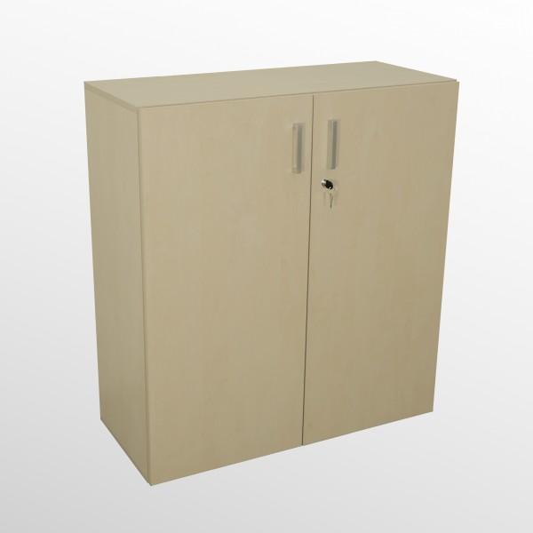 Hochwertiger Flügeltürenschrank - Aktenschrank - 3 Ordnerhöhen - Ahorn Dekor