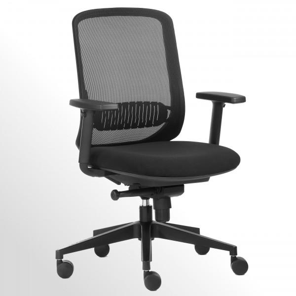 Ergonomischer Bürodrehstuhl - Homeoffice-Drehstuhl mit Netzrücken