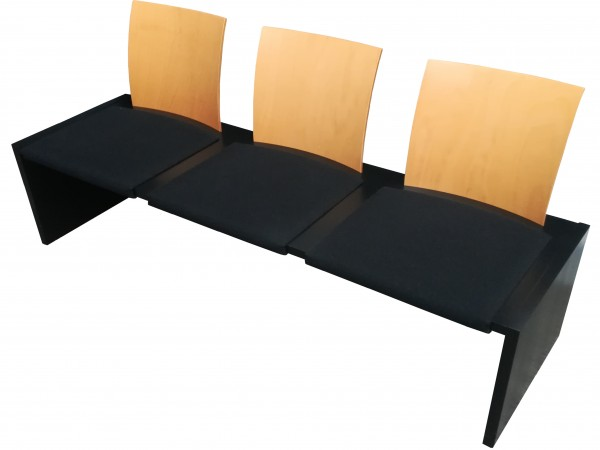 Günstige, gebrauchte Fröscher Sitzbank für den Wartebereich