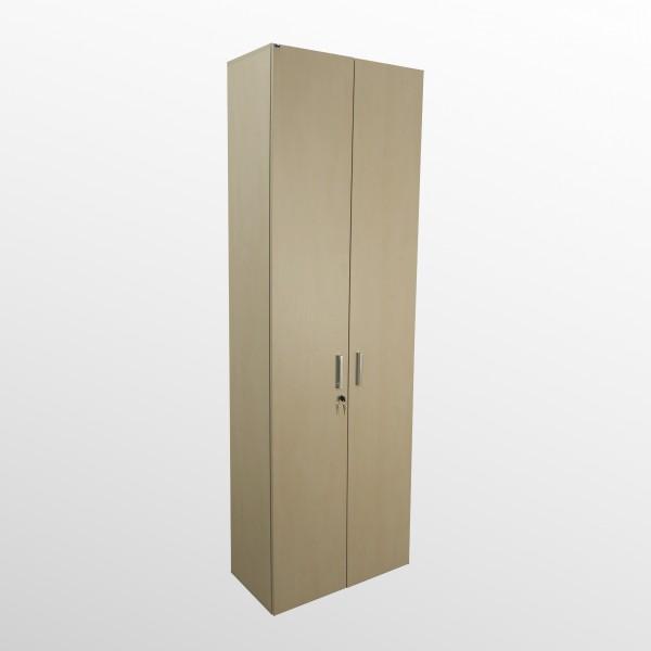 Hochwertiger Aktenschrank - Flügeltürenschrank - B 800 mm - 6 Ordnerhöhen - Ahorn Dekor